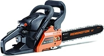 "People recommend ""Remington 41AY4214983 RM4214CS 42cc Full Crank 2-Cycle Gas Powered Chainsaw 14-Inch Bar, Automatic Oiler, and Low Kickback Chain, 42cc-14-Inch, Orange """