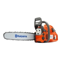 "People recommend ""Husqvarna 24 Inch 460 Rancher Gas Chainsaw"""