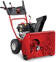 "People recommend ""Troy-Bilt 24 in. Two-Stage 208cc Electric Start Self Propelled Gas Snow Blower Storm 2410 Model"""