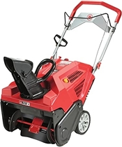 "People recommend ""Troy-Bilt Squall 208cc Electric Start 21-Inch Single Stage Gas Snow Thrower """