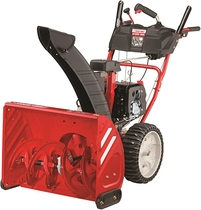 "People recommend ""Troy-Bilt Storm 2625 243cc Electric Start 26-Inch Two Stage Gas Snow Thrower"""