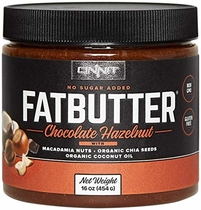 "People recommend ""New! Onnit Fat Butter - KETO SNACKS FAVORITE - Low Carb Nut Butter Packed with Macadamia Nuts, Organic Chia Seeds, Organic Coconut Oil - Perfect Keto Coffee, Food, Shake Compliment - No Sugar Added"""