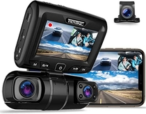 "People recommend ""REXING S1 Dash Cam 3-Channel Front,Rear,Cabin 1080P + 720p +720p, 3"" LCD, Infrared Night Vision, Parking Monitor, Mobile APP, WiFi, 170°Angle Lens, Loop Recording, Supercapacitor, Support up to 256GB: Electronics"""