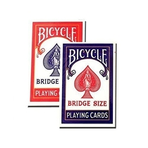 "People recommend ""Bicycle Bridge Standard Index Playing Cards - 1 Red Deck and 1 Blue Deck"""