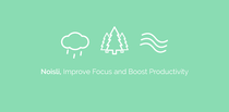 Install Noisli - Focus, Concentration & Relaxation now