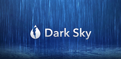 Install Dark Sky - Hyperlocal Weather now