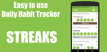 Install Streaks - Simple, Easy to use, Daily Habit Tracker now