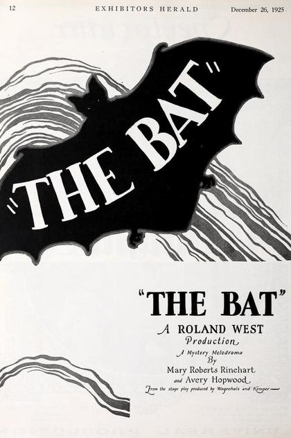 The Bat - 1926