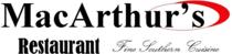 MacArthur's Restaurant | Fine Southern Cuisine