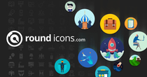 Round Icons - 43,000 Premium Icon Packed in One Bundle Flat Line Glyph