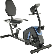 Exerpeutic Easy Step Thru Magnetic Recumbent Exercise Bike